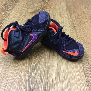 VGUC Nike Lebron James Colorful Sneakers